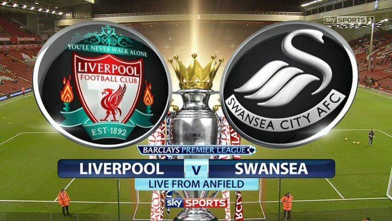 Liverpool vs Swansea City Live Streaming