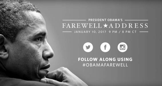 Obama Farewell Address 2017, Watch President Obama's Final Speech
