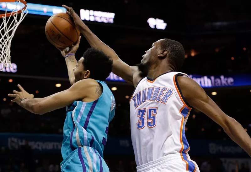 Oklahoma City Thunder vs Charlotte Hornets Live Streaming, Play-by-Play NBA info, Lineups, Score
