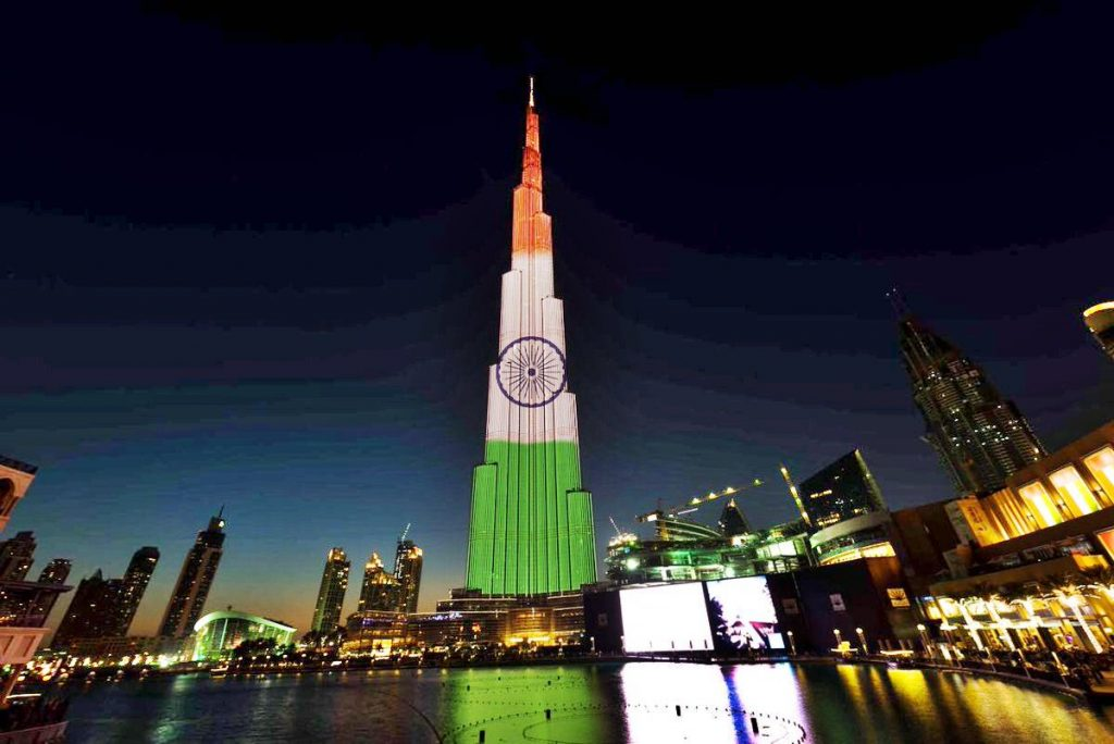 burj khalifa happy republic day wallpaper