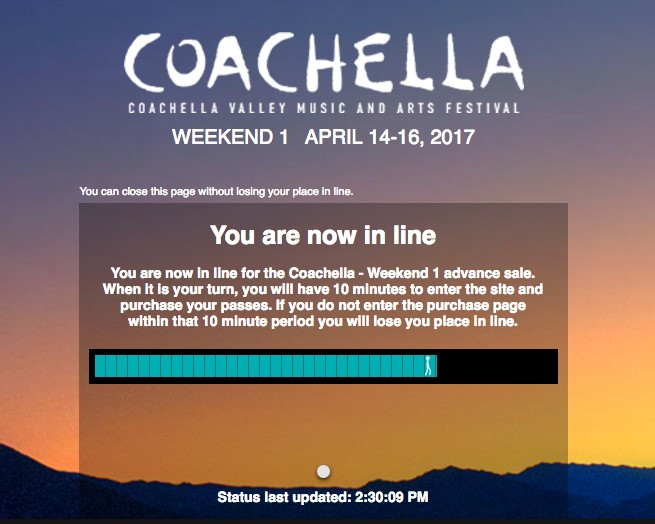 coachella 2017 music festival lineup and passes