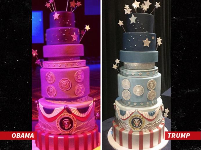 donald trump inauguration cake design
