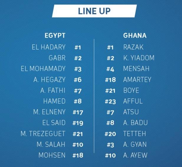 egypt vs ghana live