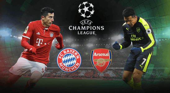 champions league arsenal bayern live stream