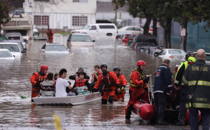 San Jose Rain Leaves Residents Swimming In Streets