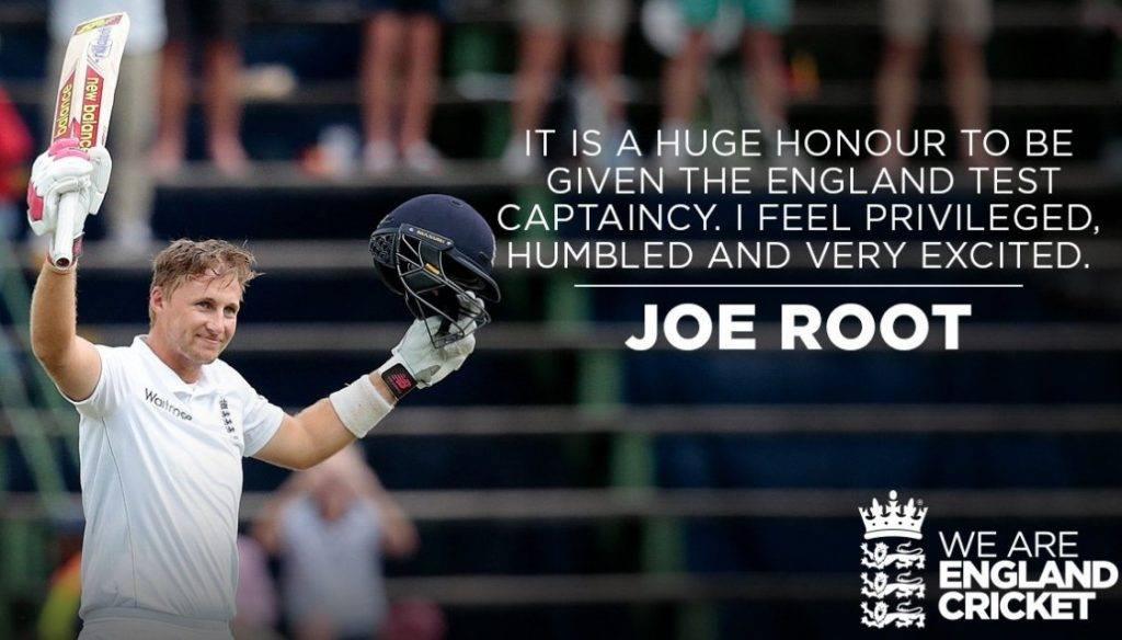 joe root england cricket captain