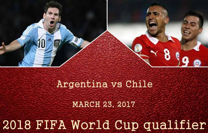 Argentina face off with Chile in a must-win tie on Friday