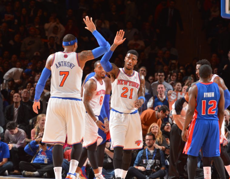 Detroit Pistons vs New York Nicks Live Streaming, Score