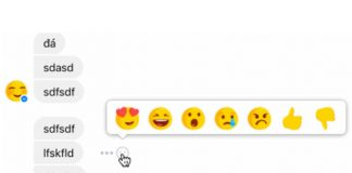 Facebook is Testing Reactions in Messenger chats