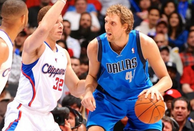 Mark Cuban needles Blake Griffin over getting shoved down by JJ Barea