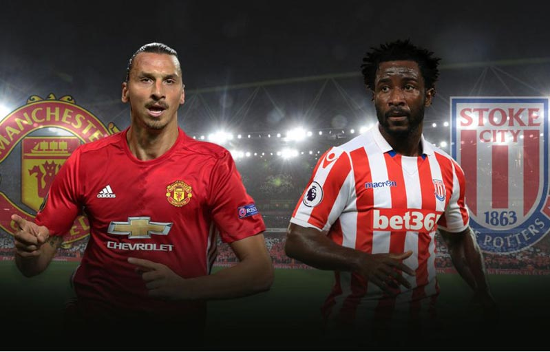 Manchester United vs Stoke City Live Streaming, Starting XI Lineups, Live Score - Watch Premier League on Online & TV