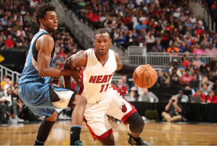 Miami Heat guard Dion Waiters injures left ankle against Timberwolves