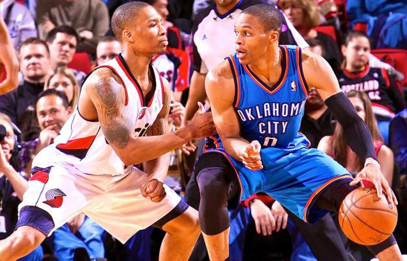 thunder vs trail blazers - photo #37