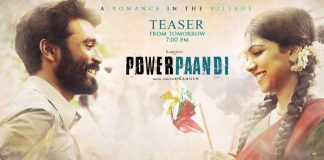 Power Paandi Trailer 2 A Romance in the Village