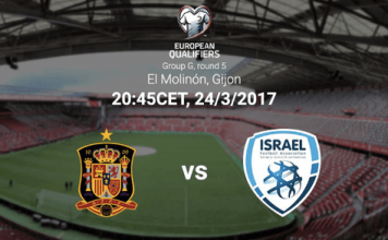 Spain vs Israel Live Streaming, Lineups and Live Score Updates: FIFA Qualifiers 2018