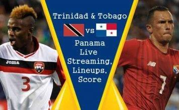 Trinidad & Tobago vs Panama Live Streaming, Official Lineups, Live Score Updates