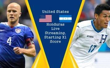 USA vs Honduras Live Streaming, Starting XI