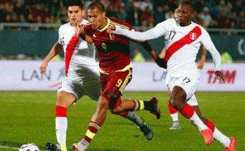 Venezuela vs Peru Football World Cup Qualifier