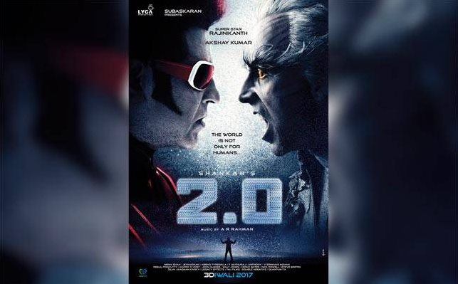 Zee Networks bought the Superstar Rajini's 2.0 Satellite rights for BIG amount