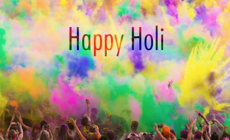happy holi 2017 hd wallpaper