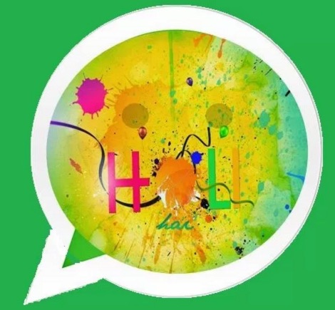 holi whatsapp dp