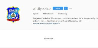 Bengaluru City Police launches Instagram App account