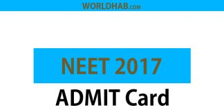 CBSE NEET 2017 Admit card declared - Download NEET Hall Ticket 2017 at cbseneet.nic.in