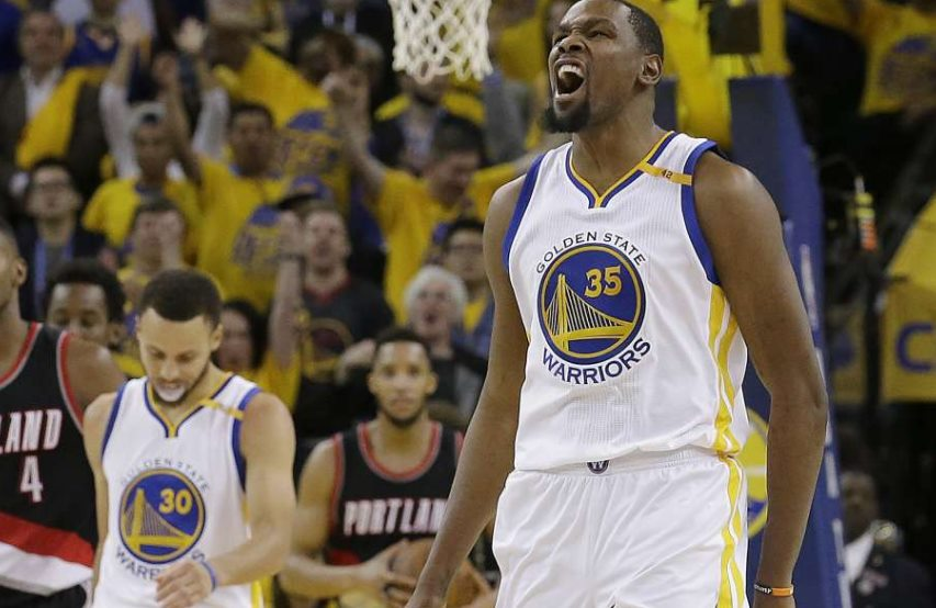 Warriors put Blazers on brink