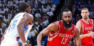 Houston Rockets vs Oklahoma City Thunder Live Streaming, Game 3 Lineups