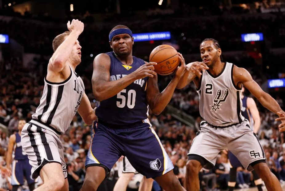 Leonard, Mills lead Spurs by Grizzlies for 3-2 series lead