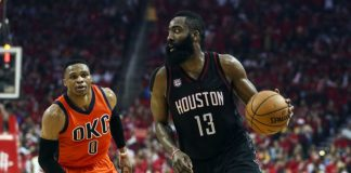 Oklahoma City Thunder vs Houston Rockets Live Streaming, Game 5 Lineups