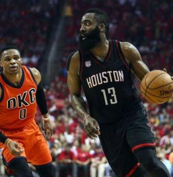 Oklahoma City Thunder vs Houston Rockets Live Streaming, Game 5 Lineups