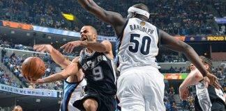 San Antonio Spurs vs Memphis Grizzlies Live Streaming, Game 3 Lineups
