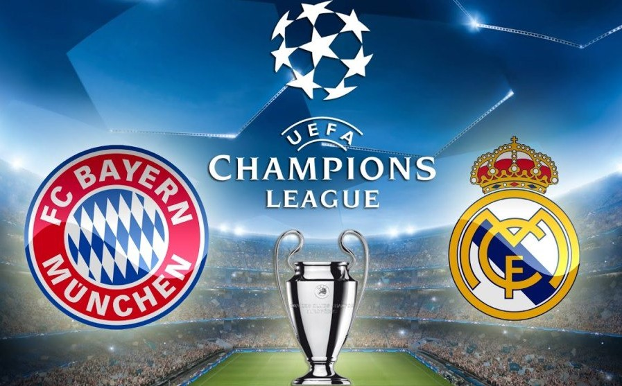 real madrid vs bayern munich results today