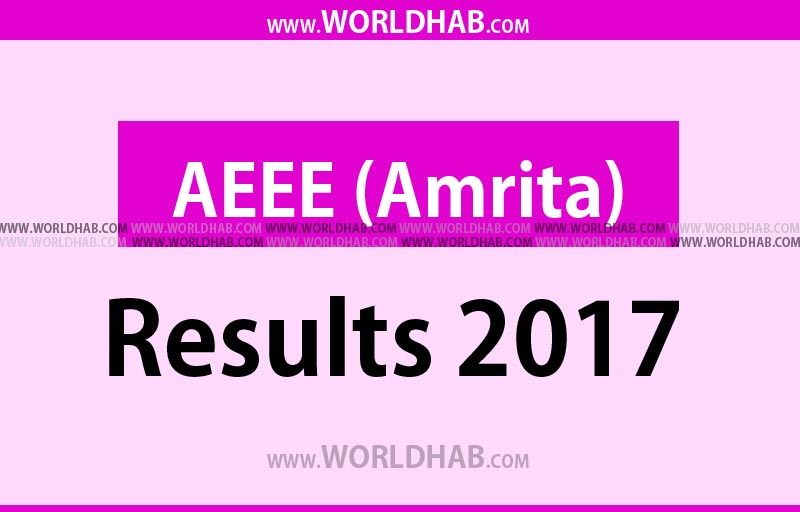 AEEE Results 2017 Ranks