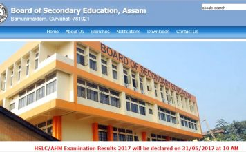 Assam SEBA HSLC Class 10th results 2017 to be released on May 31 at resultsassam.nic.in