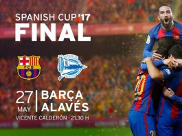 Copa del Rey Final - Barcelona vs Alaves live streaming on TV, online