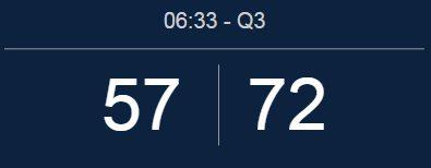 Golden State Warriors vs Utah Jazz Live score