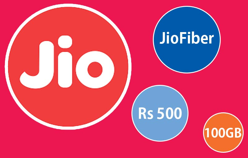 JioFiber FTTH Broadband to launch at Rs 500 for 100GB of Data
