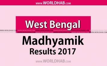 Madhyamik 2017 Result