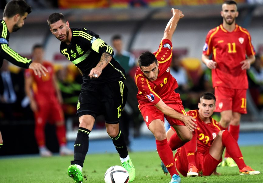 Macedonia vs Spain Playing XI lineup World Cup Qualifier 2018 Preview