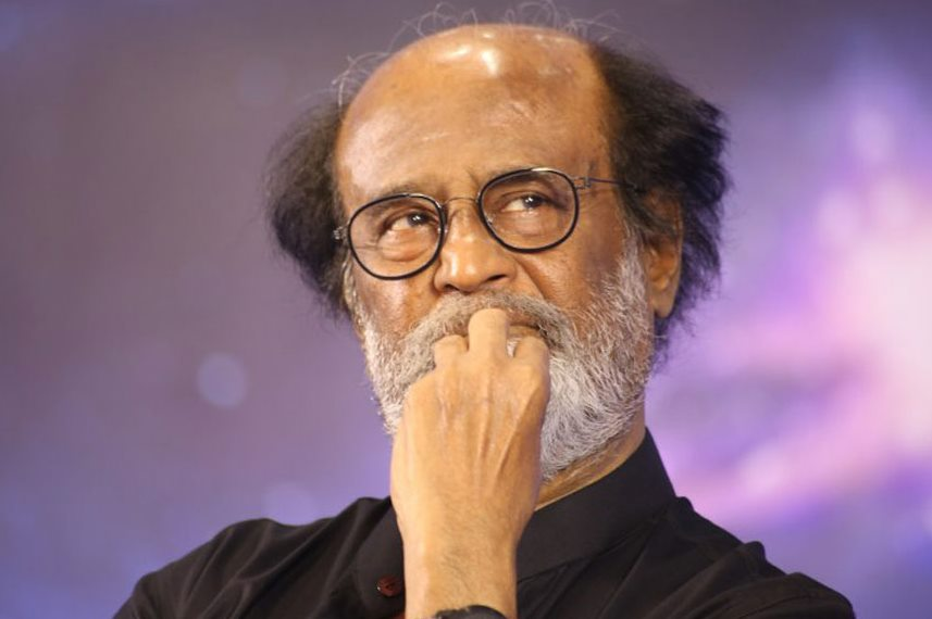 Rajinikanth Meets Farmers & assures Support For Linking Rivers