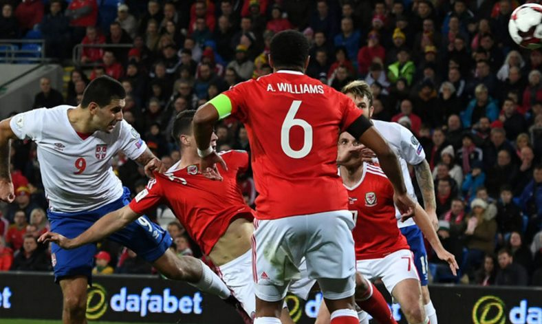 Mitrovic equalises late as Serbia earn point vs. Wales