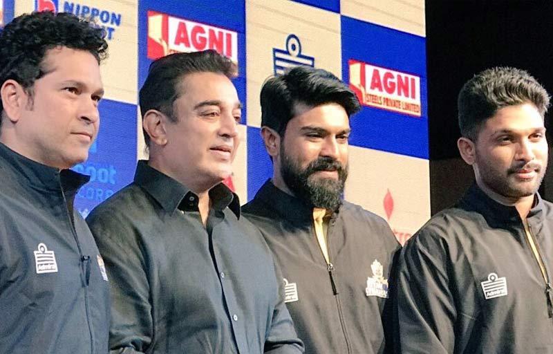 Tamil Thalaivas brand ambassador of Kamal Haasan, Sachin, Allu Arjun at Jersey launch