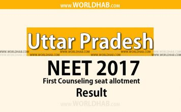 UP NEET 2017 First Counseling seat allotment results Declared on upneet.gov.in