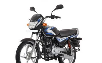 Bajaj CT100 Electric Start launched with Big engine in India