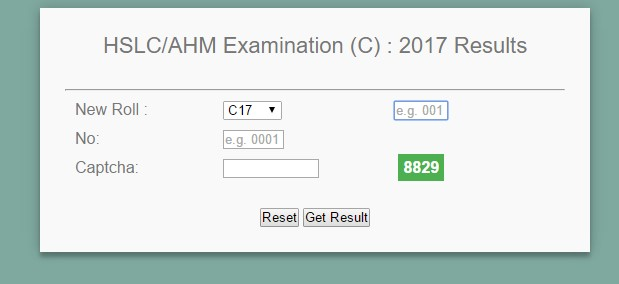 HSLC/AHM (Compartmental) RESULTS, 2017