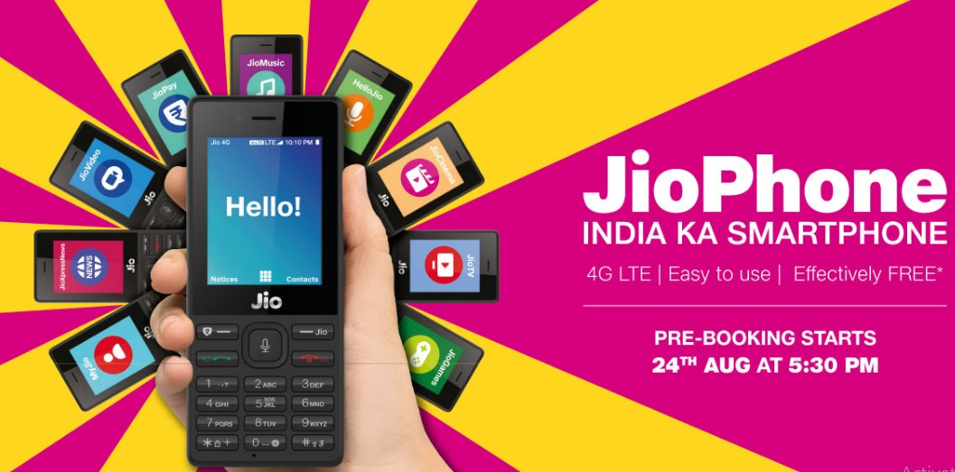 JioPhone Booking Start Time & check other important info. to get it as first