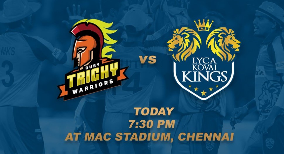 Kovai Kings vs Trichy Warriors Playing XI - Live TNPL 2017 on TV & online