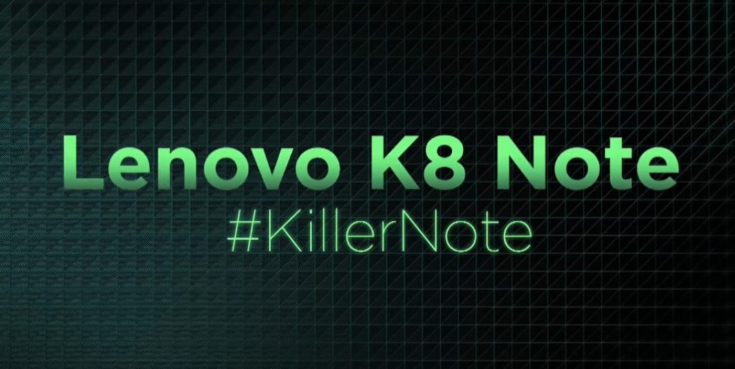 Lenovo K8 Note launch in India